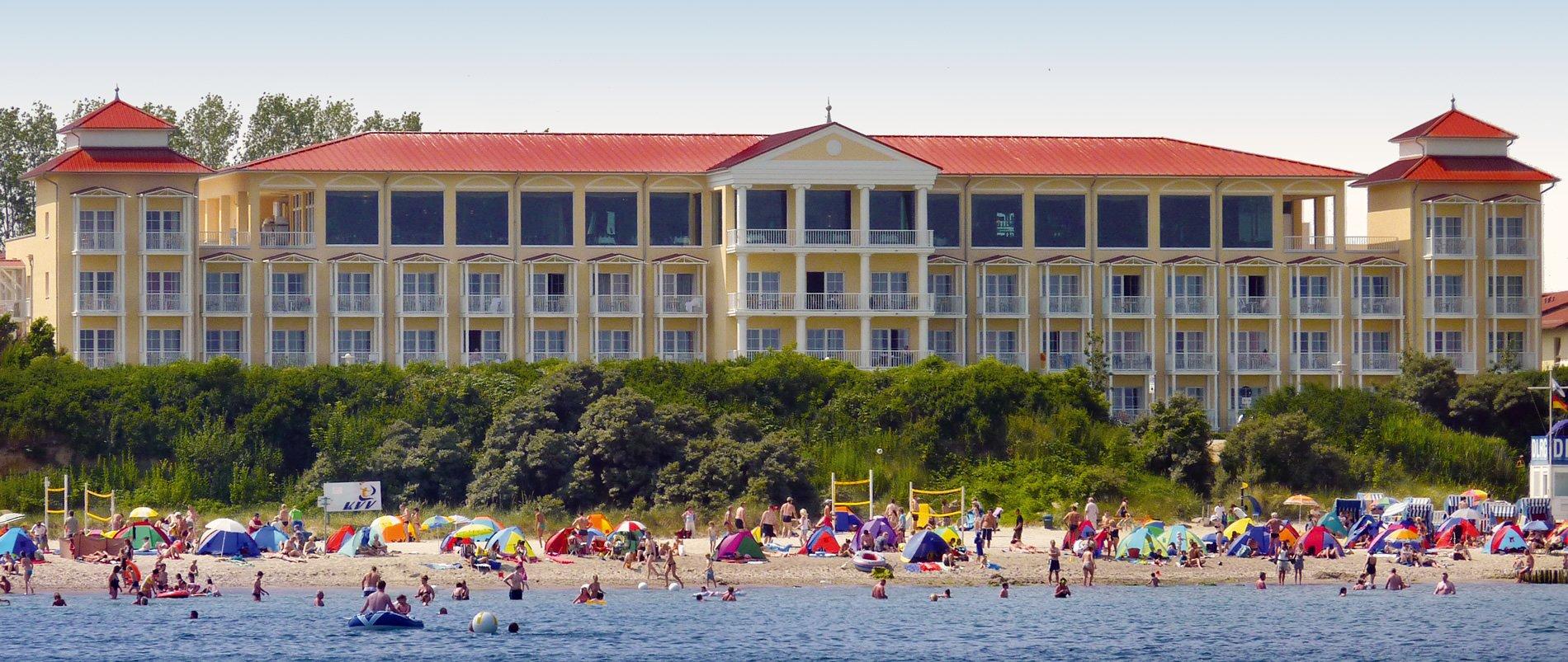Hotel k hlungsborn morada strandhotel direkt an der ostsee for Designhotel am strand