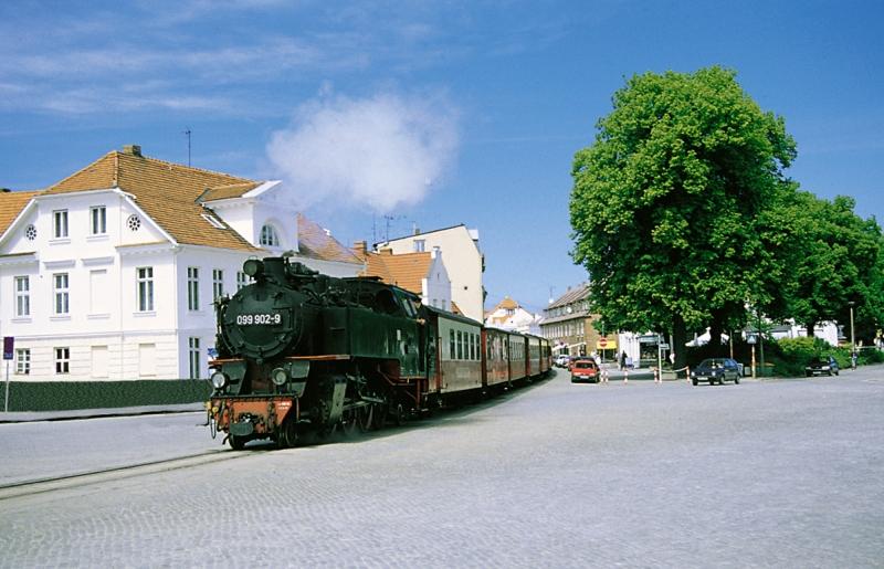 Molli - historische Schmalspurbahn an der Ostsee - Geschichte und Wissenswertes zum Molli