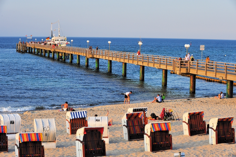 Seebrücken an der Ostsee - Touristische Attraktionen mit Flair