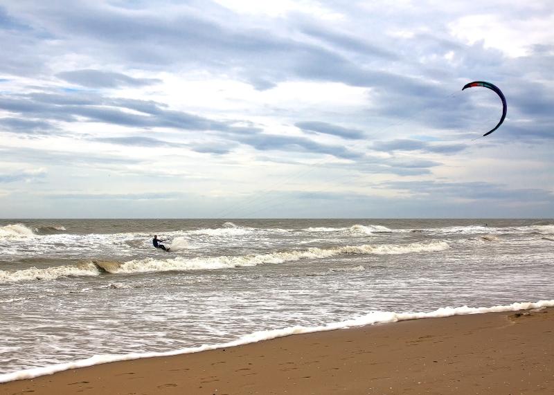 Wasser-Trendsport - Kitesurfen in der Ostsee