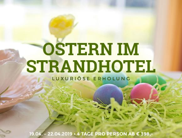 Ostern im Strandhotel