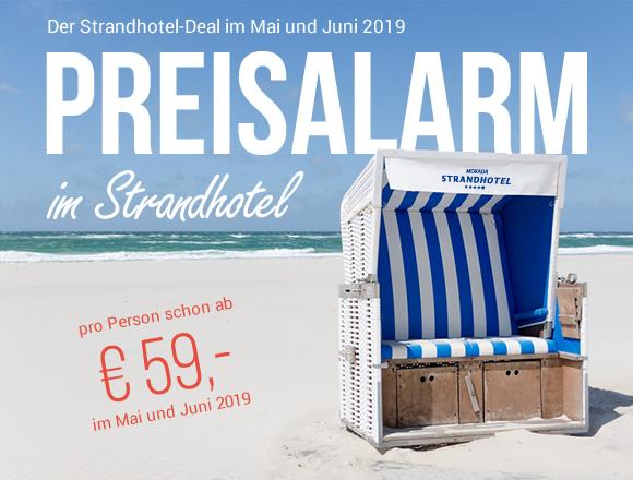 Der Strandhotel-Deal im Mai und Juni 2019