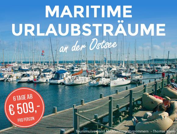 Maritimer Kurzurlaub